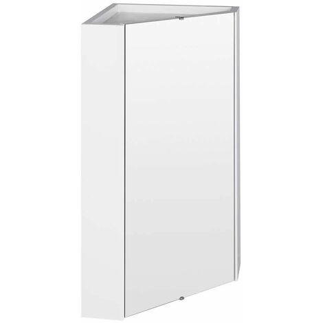 hudson reed armoire miroir d angle pour salle de bain 55 6 x 45 9 cm