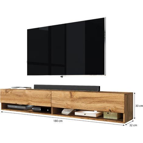 furnix meuble tv meuble de salon alex 180 cm ch