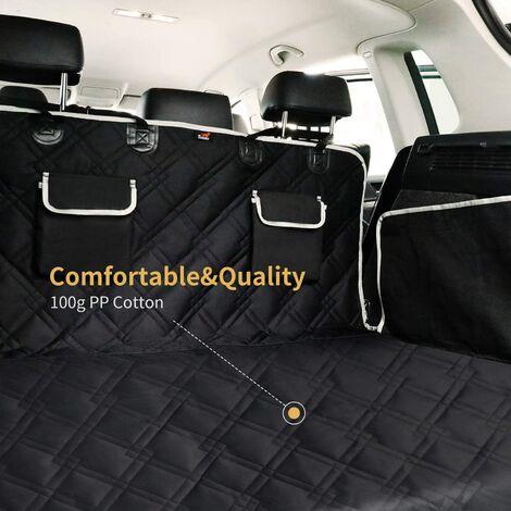 protection coffre voiture pour chien avec protection laterale universelle tapis de protection robuste pour chien 185 x 103 cm couverture de coffre