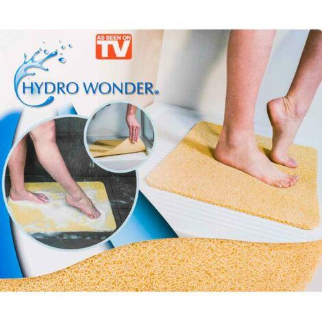 hydro wonder tapis de douche anti glisse