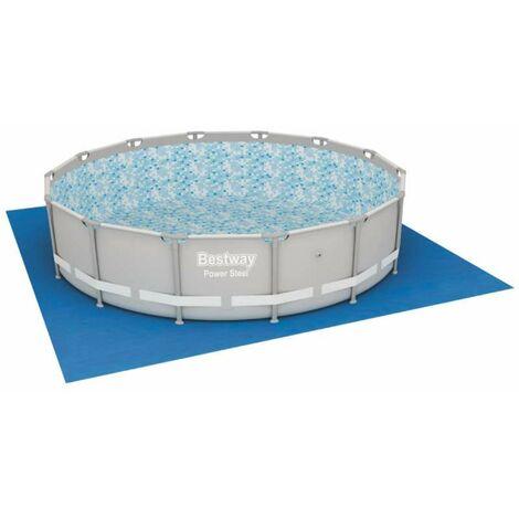 tapis de sol bestway pour piscine hors sol 4 88x4 88m