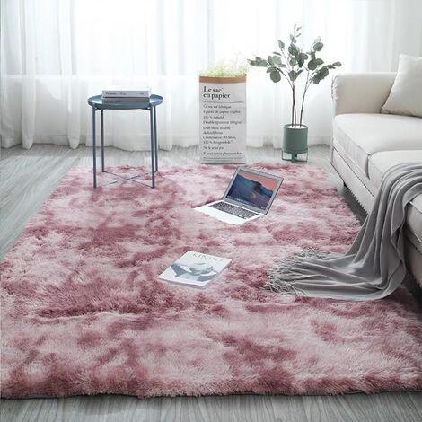 https www manomano fr p 160x230cm extra large moelleux tapis doux shaggy tapis tapis salon chambre tapis de sol rose pourpre 160x230cm 26513711