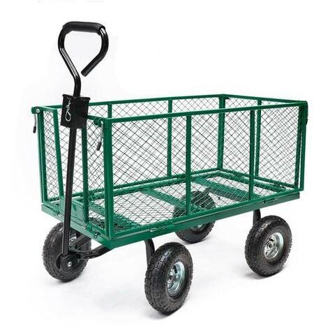 https www manomano fr p chariot de jardin grillage 4 roues bache 2051553