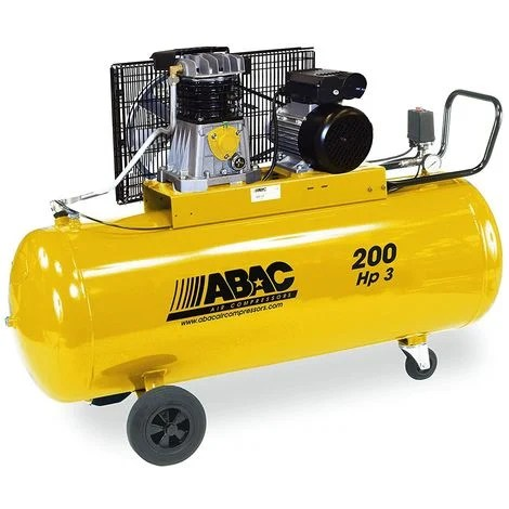 Compresseur Air Bicylindre 200l 3cv Monophase