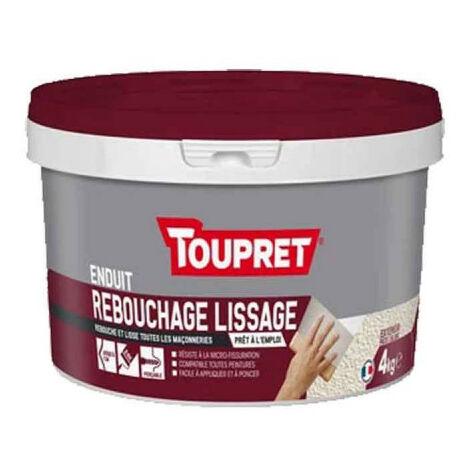 Enduit Multi Fonctions En Pate 3en1 Blanc 1 25kg Toupret Tsunip1 25