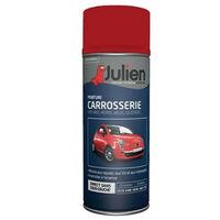 Peinture Aerosol Julien Carrosserie Rouge Course 400 Ml Rouge