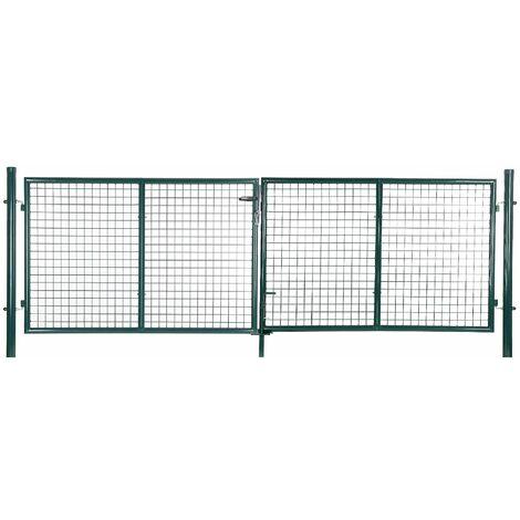 portail aluminium fer acier