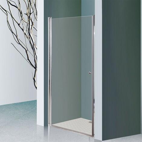 porte de douche pivotante dylane sans cadre 100 cm 6mm