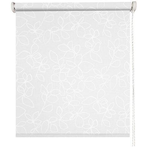 store enrouleur voile santorini blanc l49 x h190cm blanc