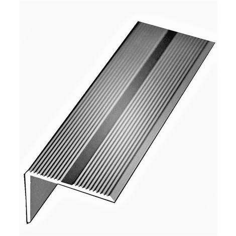 Nez De Marche Klose Aluminium Anodise Argent 42 Mm X 22 Mm 1 Metre