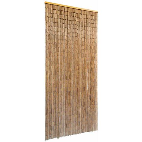 Rideau De Porte Bambou 90 X 200 Cm