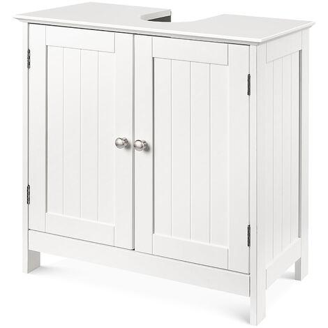meuble sous lavabo vasque