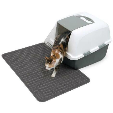cat it tapis pour bac a litiere grand format 90 x 60 cm 35 5 x 23 5 po pour chat