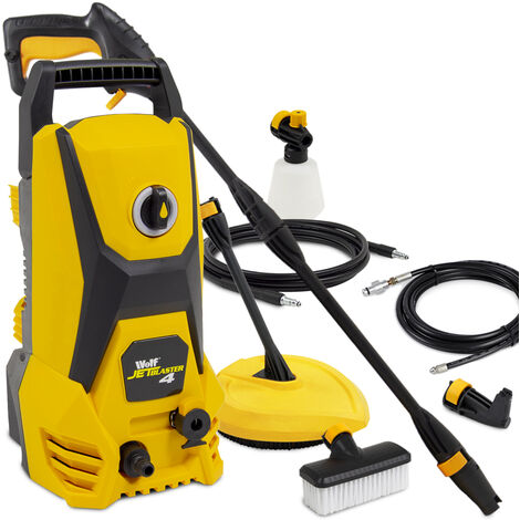 wolf jet blaster 4 pressure washer with angled nozzle patio cleaner 10m drain cleaner