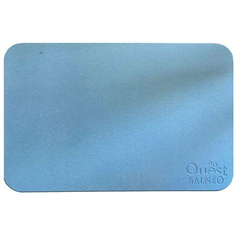 tapis de bain diatomite imprime antiderapant ecologique 60 x 40 x 1 cm