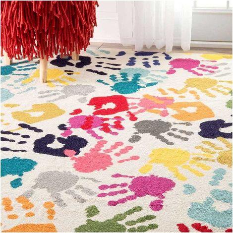 40x60 un amour de tapis petit tapis d entree interieur tapis salon moderne design poils ras tapis chambre turquoise tapis entree multicolore