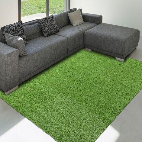 tapis shaggy poils long 160x230 cm