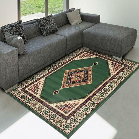 80x150 un amour de tapis tapis moderne pour salon oriental design poils ras petit tapis salon vert