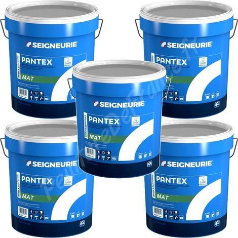 Peinture Seigneurie Pantex Mat Blanc 15l X5