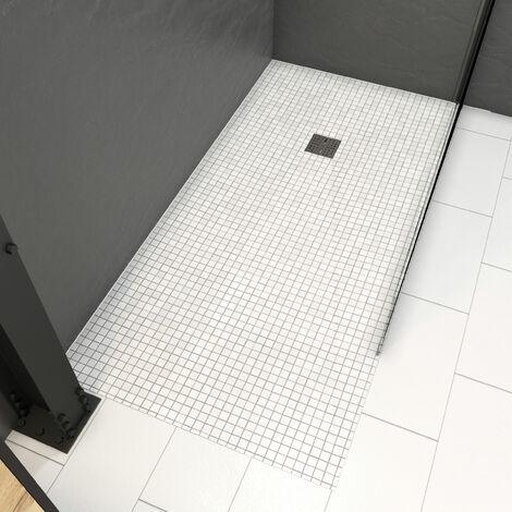 bac receveur de douche a carreler 160x90 cm recoupable sur mesure pour douche a l italienne