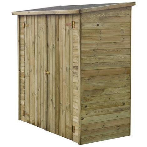 abri jardin bois adossable lipki 1 79 x 0 90 x 1