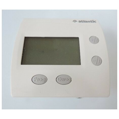 Programmateur Regulateur Centralise Digital Hebdo 1 Zone Fil Pilote Atlantic 602131