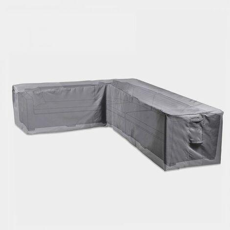vonhaus waterproof garden l shape sofa