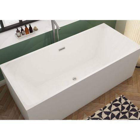 baignoire ilot rectangulaire burano