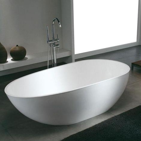 solid surface ovale stockholm 185 cm