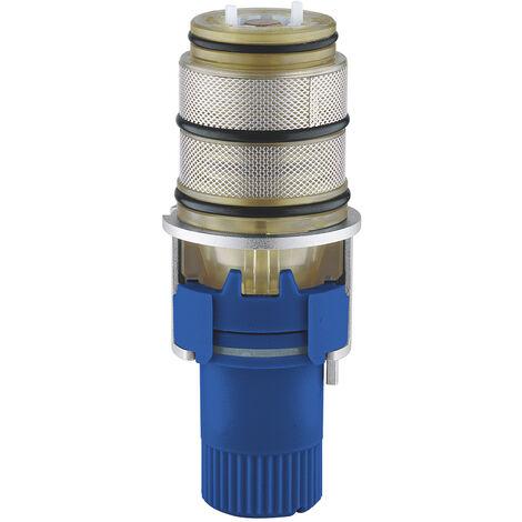 grohe element thermostatique 1 2 modele inverse pour eau chaude a droite 47175000