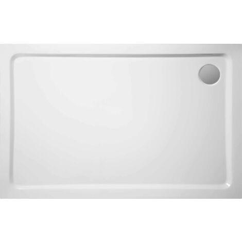receveur de douche 100x80 cm practic en acrylique
