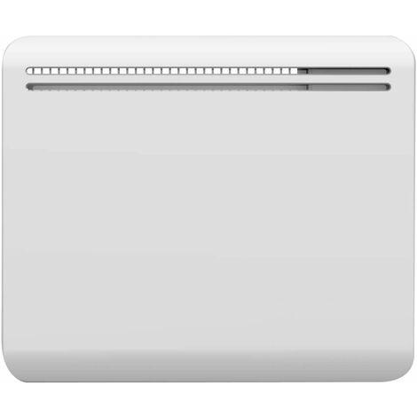 Radiateur A Inertie Ceramique Powell Blanc Acier 1000w