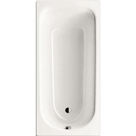 kaldewei baignoire eurowa en acier emaille blanc alpin avec pieds de bain 5041 plus 119800010001 set