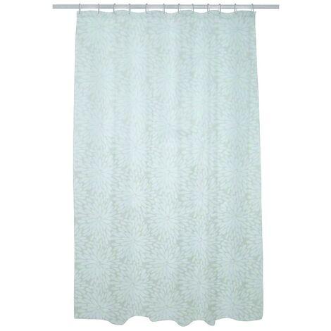 petal polyester waterproof shower curtain 1800mm x 1800mm