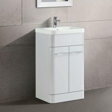 lex freestanding bathroom vanity unit