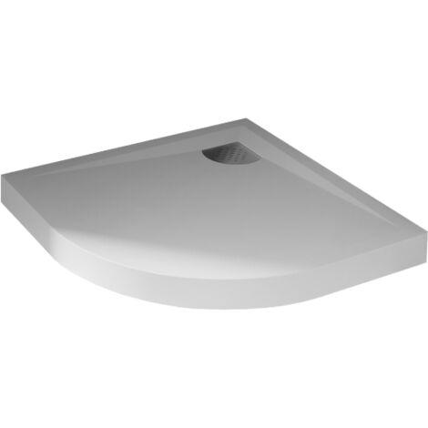 receveur de douche quart de rond blanc 90 x 90 cm kinecompact kinedo