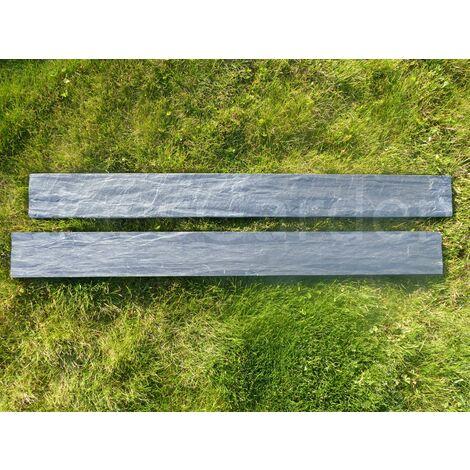 bordure d ardoise scie 80 cm