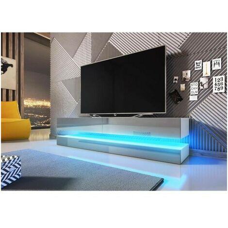 meuble tv design suspendu fly 140 cm a