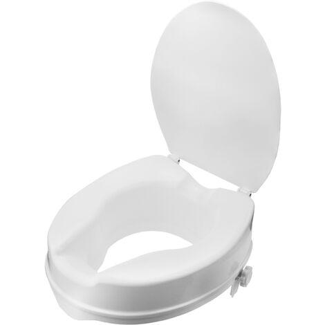 primematik rehausseur de toilettes pour wc avec couvercle pour adultes