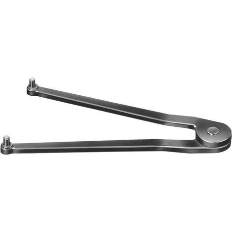 cle a ergots double reglable 7 40mm 2 5mm tenon amf 1 pcs