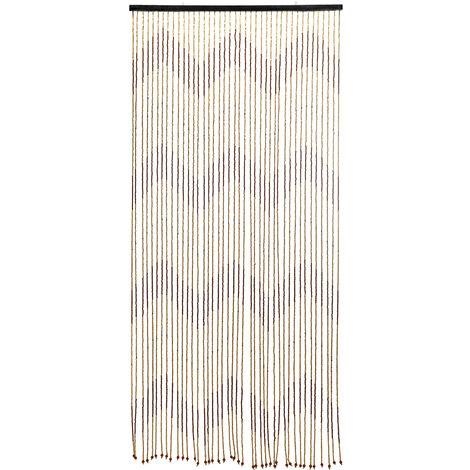 90x220 cm 31 ligne retro en bois rideau de perles stores rideau de porte moustiquaire pour porche chambre salon salle de bain