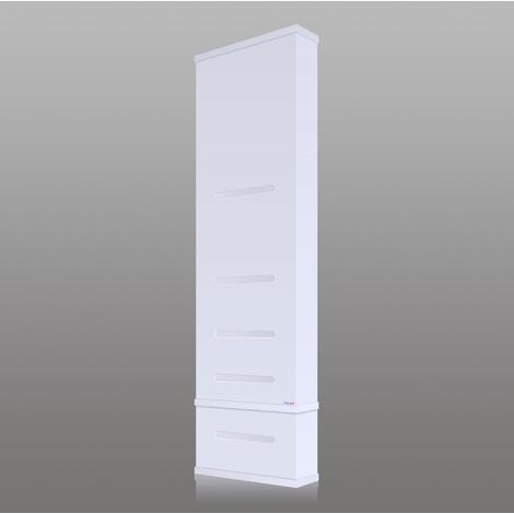 Chauffe Eau Electrique 179 Litres Extra Plat Vertical Waterslim Wts 100 Blanc