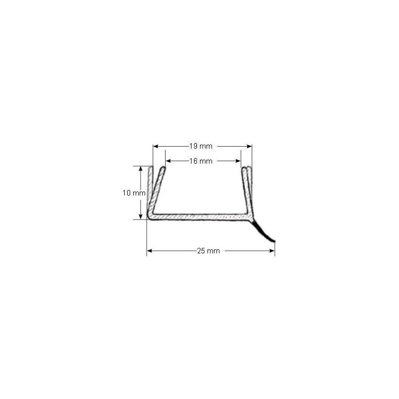 joint de plinthe translucide longueur 2 6m