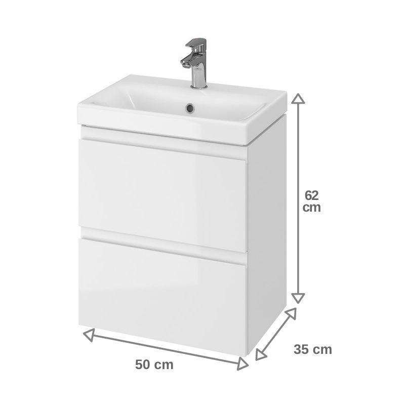 meuble de salle de bain 50x35 cm faible