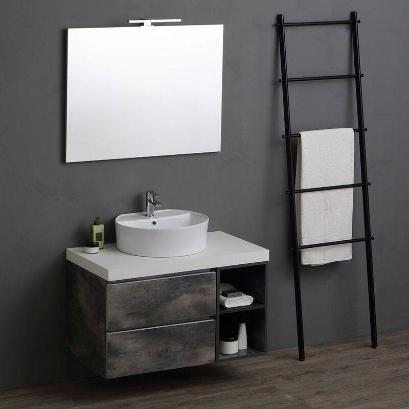 meuble de salle de bains modulable