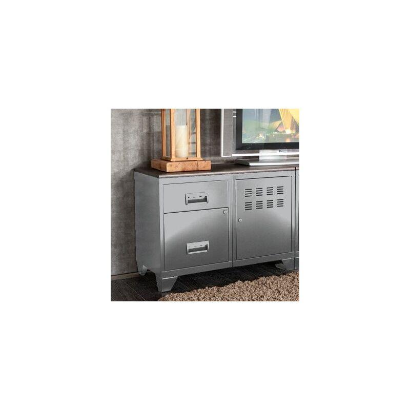 meuble rangement metal 1 porte 2