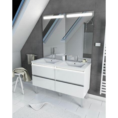 meuble salle de bain 130 cm a prix mini