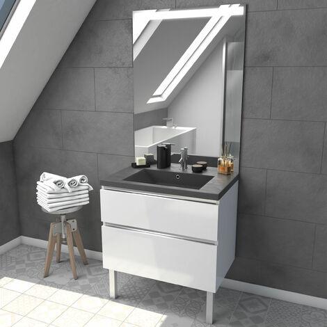 meuble salle bain 80 cm a prix mini