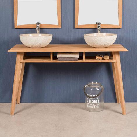 meuble sous vasque 140 a prix mini