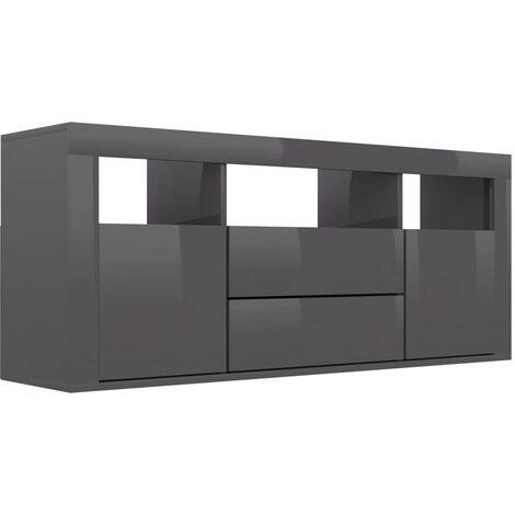 meuble tv gris a prix mini